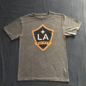 Men's Adidas LA Galaxy S/S Crew Neck Tee Shirt
